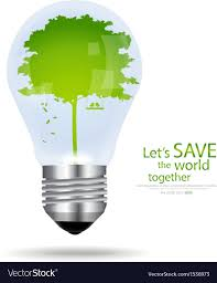 Light Bulb With Tree Inside Save The World Light Bulb With Tree Inside