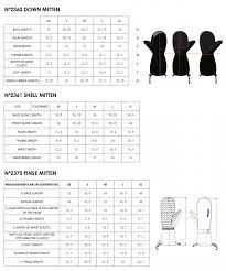 Bergans Size Guide