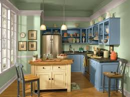 Light Blue Kitchen Amazing Of Interesting Blue Kitchen Cabinets Traditional 3871