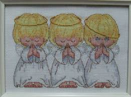 Angel Cross Stitch Patterns Delectable FREE Shipping Top Quality Popular Counted Cross Stitch Kit Almost