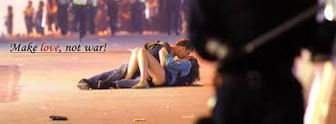 Image result for make love not war
