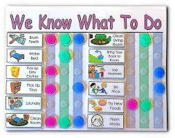Daily Schedule For Multiple Kids 2 To 3 Kids You Choose Title Colors And 15 Chores Behaviors Activities Mark Completed Chores With The Colored
