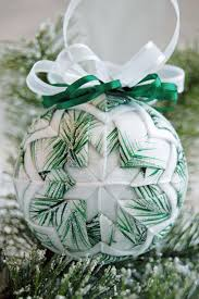 133 best Christmas quilted ornaments images on Pinterest | Crafts ... & Quilted Ornament made with ribbon & fabric combo. Adamdwight.com