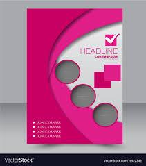 Brochure Background Design Flyer Design Background Brochure Template Vector Image