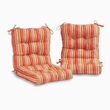 target patio pillows fresh coastal collection outdoor chair cushion set of 2