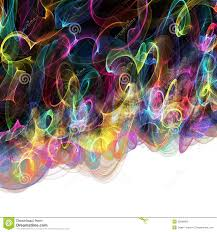Free Clipart Abstract Designs Abstract Digital Rainbow Background Stock Illustration