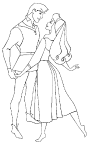 Small Picture Coloring Page Sleeping beauty coloring pages 0