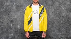 Vans Clothing Size Chart Huf Palisades Track Jacket Yellow