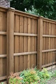 wood fence backyard. Wooden Fence Ideas \u2013 25 Best About Wood Fences On Pinterest Backyard