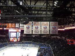 New Coliseum Uniondale Seating Chart Nassau Coliseum Hockey Seating Chart Interactive Map