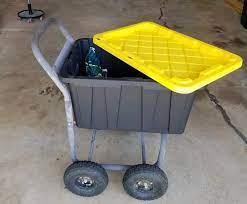 12 diy garden cart designs to build the