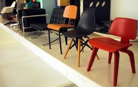 miniature modern furniture.  modern row of modern miniature designer chairs in miniature modern furniture y