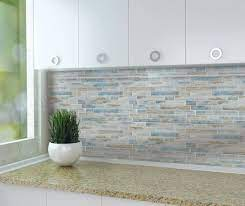 And from now on, this can be a initial image. Add The Look Of Elegance With A Glass Tile Backsplash