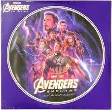 <b>Avengers Endgame</b> - Movie Soundtrack [in-shrink] LP Vinyl Record ...