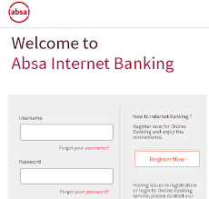 Your current, savings or credit card account number; Absa Zambia Internet Banking Guide How To Use Absa Bank Online Banking