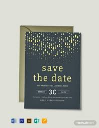 Save The Date Template Word Free Save The Date Party Invitation Template Word Psd