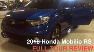 2018 honda brv philippines. simple philippines 2018 honda mobilio 15 rs navi cvt full tour review intended honda brv philippines