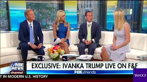 Image result for Ivanka Trump on Fox & Friends