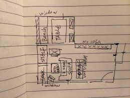 Small 'L' Shape living room layout.