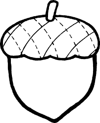 nut clipart black and white. fall black and white free acorn clip art clipartfest nut clipart (
