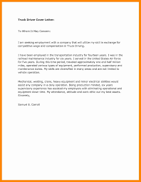 Truck Driver Cover Letter Resume Sample Beautiful 11 Release Concept