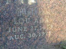 Lou Ada Nichols Schnoutze (1879-1973) - Find A Grave Memorial