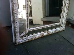 distressed wall mirror distressed wall mirror distressed wood framed mirrors distressed wall