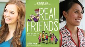 Cover reveal: 'Real Friends' and navigating the perils of elementary school  - Los Angeles Times