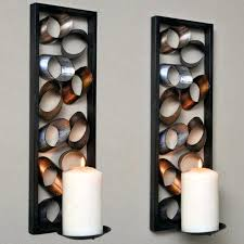 decorative wall sconces candle holders medium size of wall candle