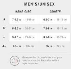 The North Face Size Chart Cm The North Face Gloves Size Chart Images Gloves And