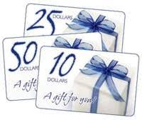 houseboat gift certificates