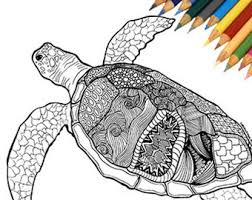 Small Picture Zentangle turtle Etsy