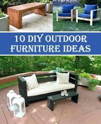 diy garden furniture ideas insanely cool outdoor furniture ideas 22 easy and fun diy outdoor furniture ideas
