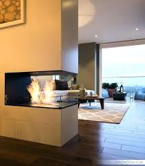 3 sided fireplace two sided fireplace interior designing and home decor double sided fireplace ideas two 3 sided fireplace