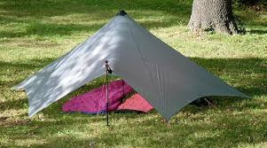 this an interesting innovative concept it provides a huge shelter area for a small weight spend 18 oz 513g in silnylon 11oz 313g in cuben
