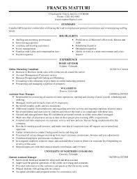 Additional Coursework On Resume Graduate