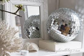 Decorative Disco Ball New Disco Ball Decoration Classy Spring Mantel Decoration With Cherry