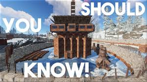 Rust Clan Base Design 2019 Rust A Rust Base Everyone Should Know Rust Base Design