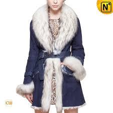 women sheepskin coat cw601005 cwmalls com