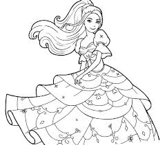 Coloring Barbie Coloring Pages Ken And Black White To Print For