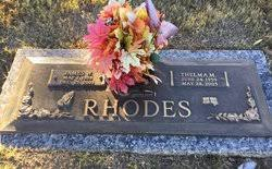 Thelma Boyd Mullenix Rhodes (1939-2005) - Find A Grave Memorial