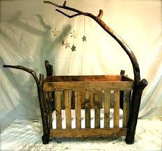 rustic crib furniture. Rustic Convertible Crib Baby Cribs Furniture Sets .