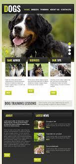 Page 3 Website Templates My Pets Club Dogs Pet Animal Custom