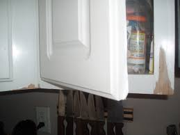 I Have Cabinets That Are Baked On Paint That Is Peeling And The