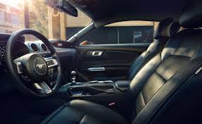 interior of the 2019 mustang