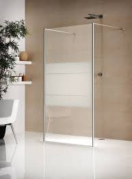 Fixed shower screen / curved - INFINITY - Usluga Glass