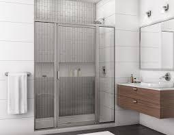 framed glass shower doors. 795-closed Framed Glass Shower Doors L