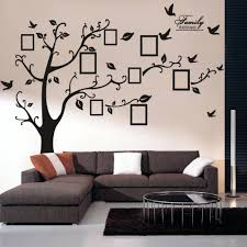 outdoor wall decal home design family tree wall decal with frames craft room family tree wall