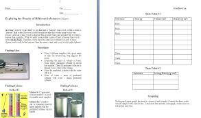 Density Lab for Middle School Physical Science FREE | Education ...