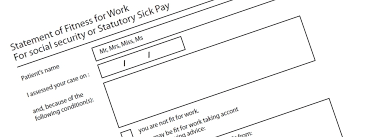 Fake Sick Note | Buy Fake Nhs Sick Notes | Fit To Work Certificate ...